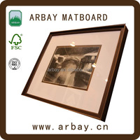 High quality paper white core talking photo insert business cards frame sell in USA