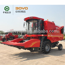 6 rows maize harvester machine for distributor