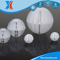 Plastic Polyhedral Hollow ball,Random Packing