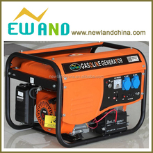 New model design single phase with cover gasoline generator electric
