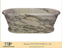 Natural White Marble Bath Tubs