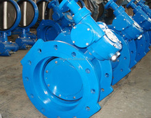 Double Flanged Double Eccentric soft sealing butterfly valve DN200-DN200 PN16