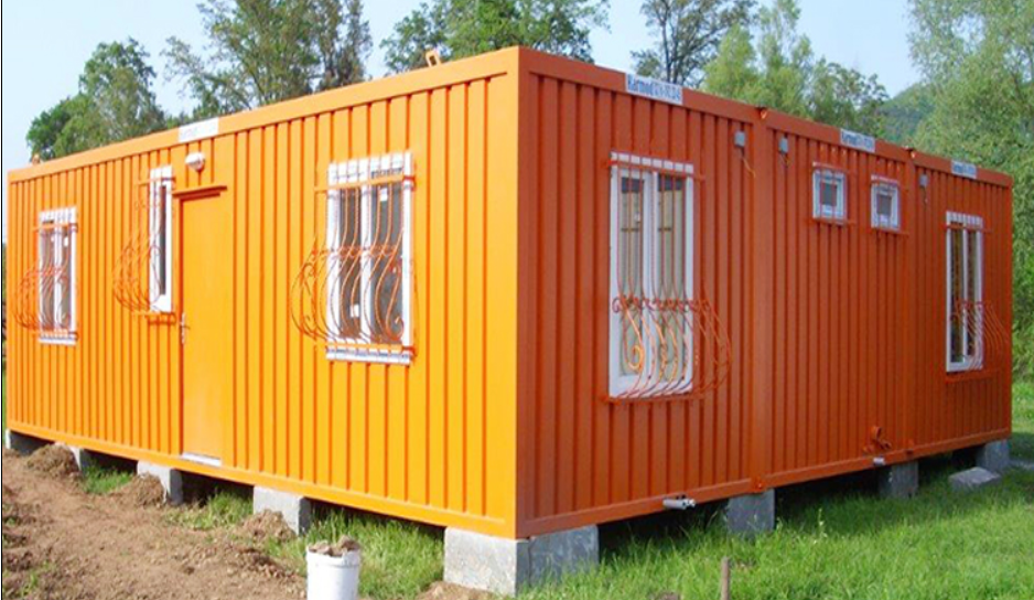 recyclable prefab container house factory price for booth-5