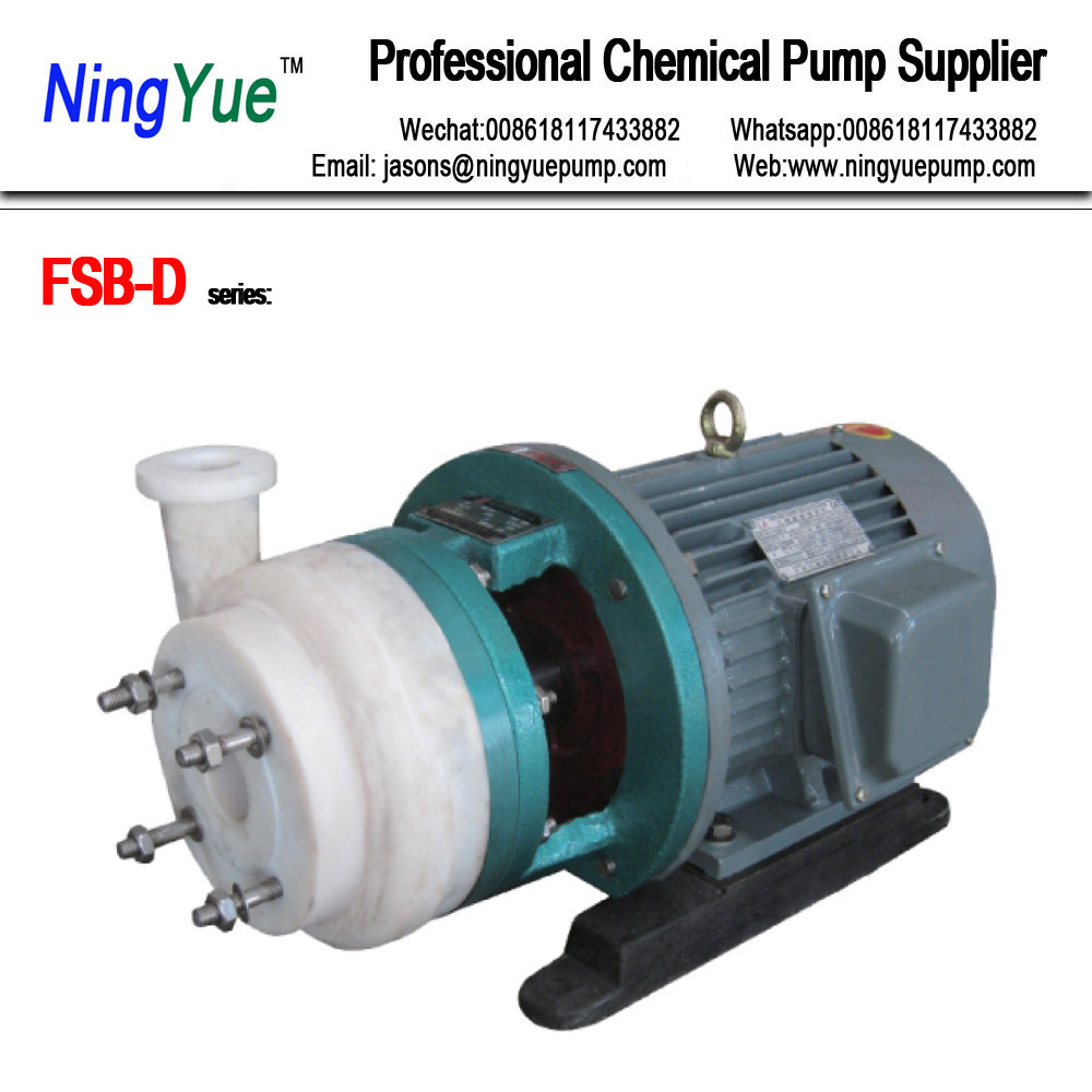 FSB chemical hydrochloric acid electric liquid transfer pump