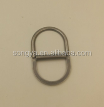 SA5066 metal slide buckles,pants/bags double d ring buckle Fashion double d ring metal bag strap accessories