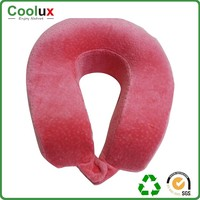 Waist support lumbar car pillow , sheepskin neck color change pillow