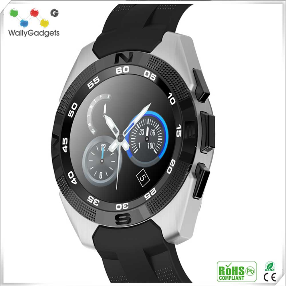 Bluetooth NFC Smartwatch SIM Card Watch Phone Android & IOS Fashion Smart Watches