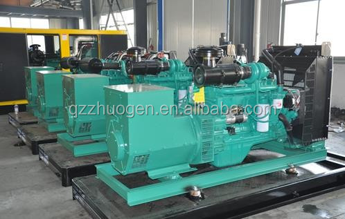 Cheap Diesel Powered Engine and Electricity Generator Set