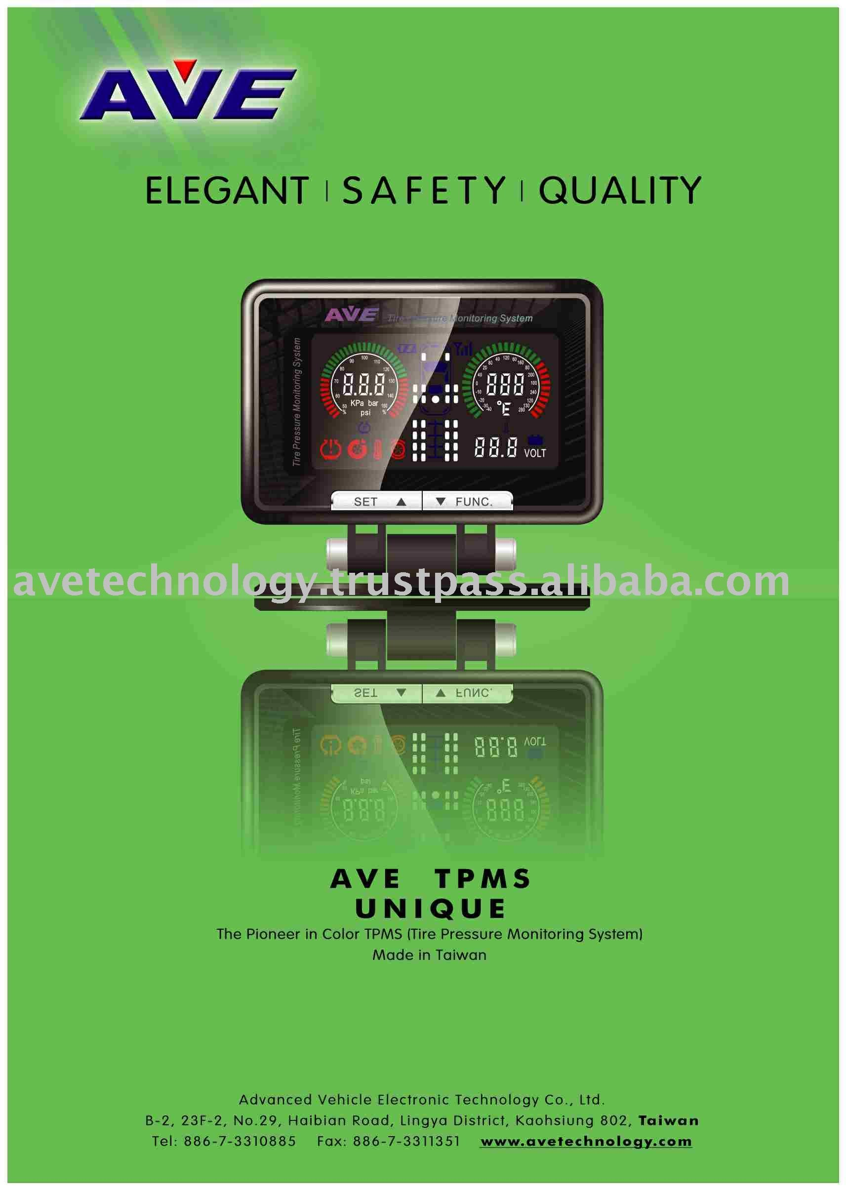 AVE TPMS Tire Pressure Monitor for Tipper Truck
