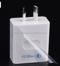 Australia small quick 9V 1.67A micro usb mobile cell phone charger