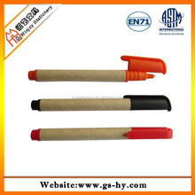 ECO friendly recycled ballpoint pen for promotion