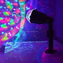 Novelty Christmas Xmas Laser LED Lightshow Projection Kaleidoscope Swirling Lights Mood New