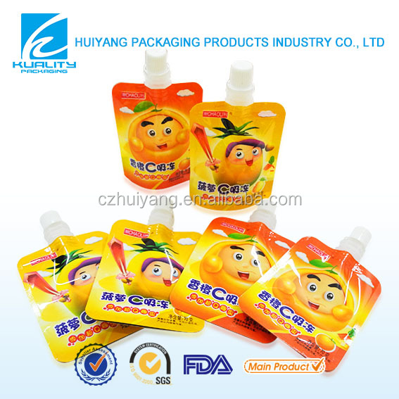 HOT sale flexible <strong>plastic</strong> laminated juice packaging <strong>material</strong>