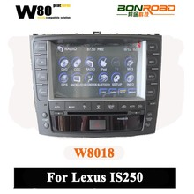 8 inch touch screen 3g bluetooth radio swc supported car dvd for Lexus is250 gps navigation