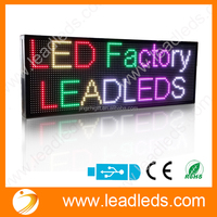 SMD 3528 RGB P10 Led Display Scrolling Text/Time/Animation Full Color Led Sign China