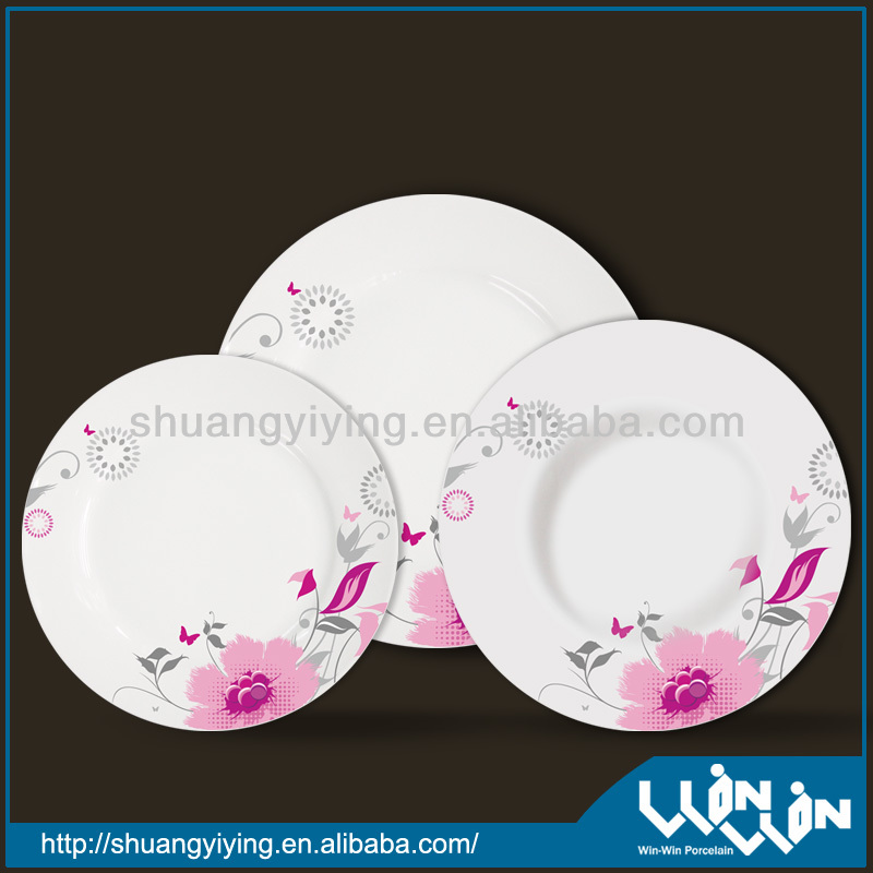 18pcs ceramic dinner set WW130062-4