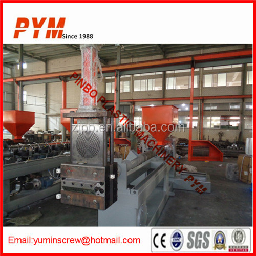 Double stage plastic pet recycling machinery
