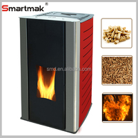 Freestanding pellet fireplace,pellet burning stove,best quality wood pellet fireplace