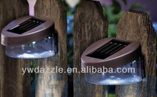 Hotest Sales! High quality Plastic led blue solar flashing lights