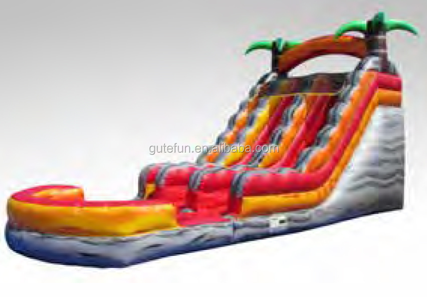 outdoor playground cheap giant inflatable water slide for kids and adult