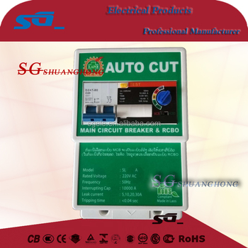 SPD-R Residual current Circuit Breaker with Overload protection RCBO
