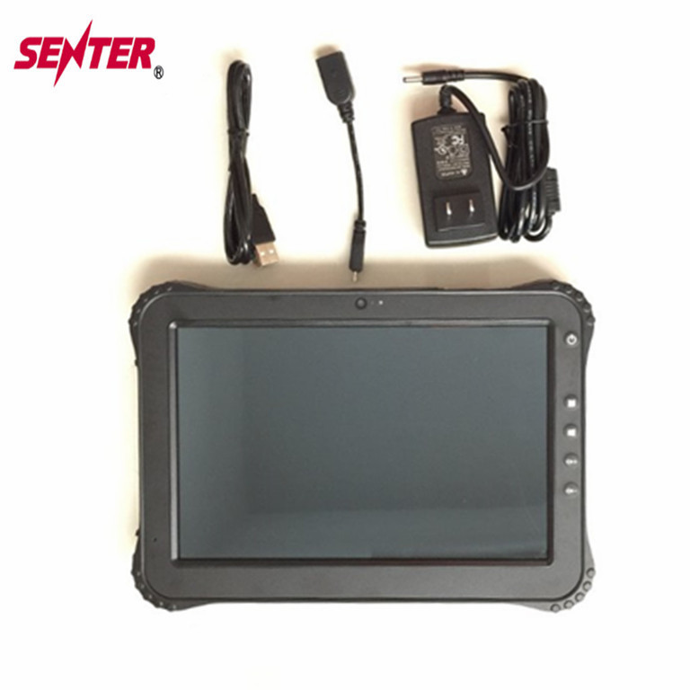 "Industrial Grade Tablet PC with Front and Back Camera 2+5MP 10.1"" Android Rugged Tablet PC with 2+32GB IP65"