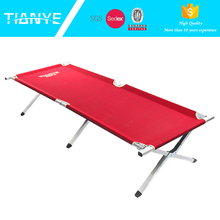 customized high quality popular comfortable portable folding lightweight camping beds for adults