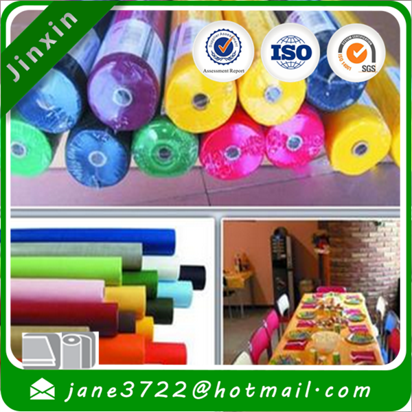 Customized PP Spunbond Non Woven fabric for table cloth/Table cover/Table mat