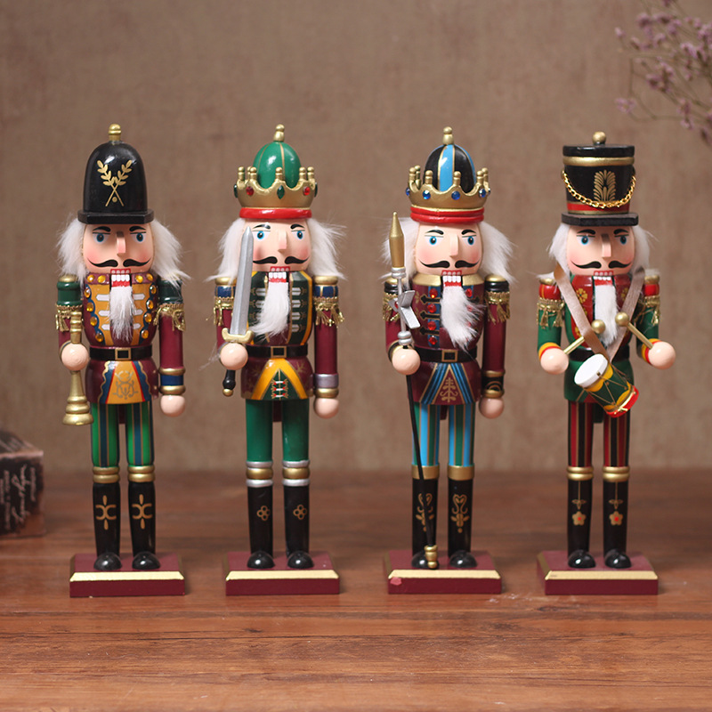 FQ brand christmas giant outdoor christmas nutcracker decoration ornaments nutcracker