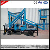 10m height china cherry picker, aerial work basket lift platform