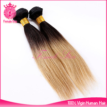 wholesale fusion extension ombre color russian human hair extensions for white women