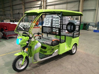Battery Operated Three Wheeler,Electric Auto Rickshaw,Electric Tricycle for Passenger