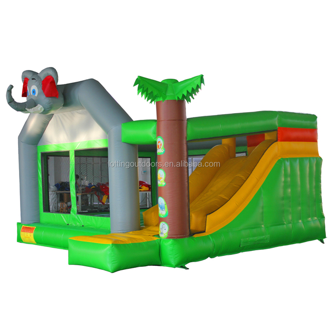 70*70*90cm packing size inflatable air castle china bounce house bouncy slide