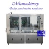 MIC-18-1 Professional manufacturer Monoblock 2-in-1 beer aluminum Can filling machines and equipment 1000-1500cph with CE