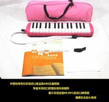 2015 CE/Disney audit Korea/Europe /America audit hotsale cheap 32 keys Cartoon melodica for children soft cloth packing