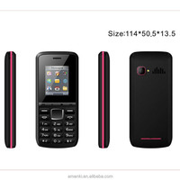 In Stock!Amanki Factory High Quality Unlocked Blu Cell Phone GSM Black