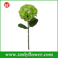 Wholesale Single Hydrangea Artificial Flower for Home Decoration Silk Flower