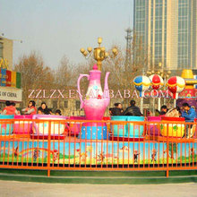 Cheap Amusement Park Rotating Coffee/Tea Cup Family Rides For Sale