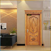 Wood carving solid old wood doors for sale