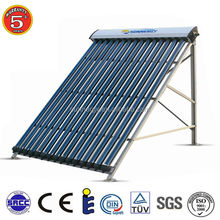 2015 hot sale solar energy system price tube 10 sun collectors