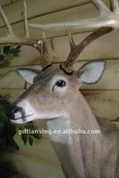 realistic latex deer wall decoration