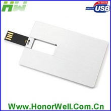 Different model metal and plastic Customized logo credit card usb flash drive 3.0 for gift and use
