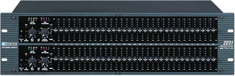 Dual 31 Band Graphic Equalizer 2231