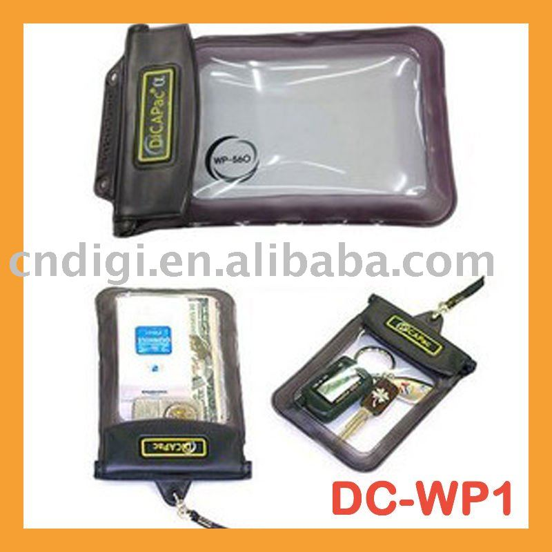 WP1 high quality PVC plastic camera waterproof case for Sony Cybershot