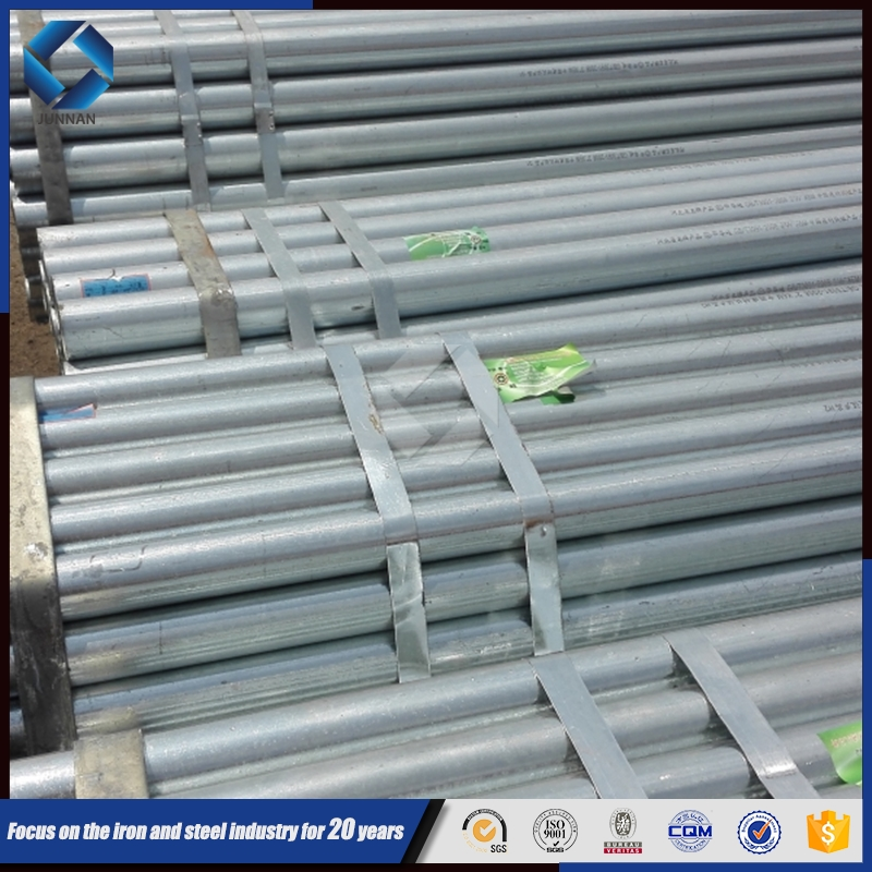(API 5L X60) Construction material ASTM A53 schedule 40 galvanized steel pipe,GI steel tubes in tangshan