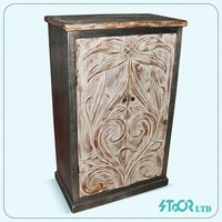 2 door wood bed drawer cabinet , divider cabinet furniture wood