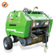 straw bundle grass round mini hay baler machine for small tractors