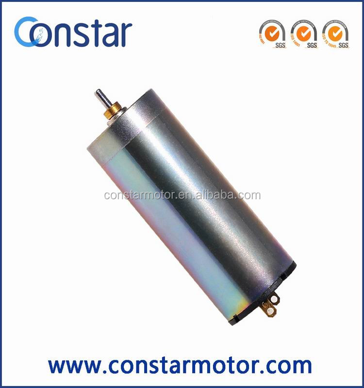 16*40mm long life precision graphite brush micro dc coreless motor