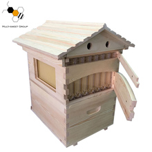 honey flow bee hive with 7 frames flow beehive box honey hive flow