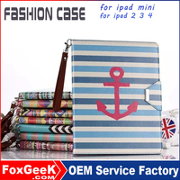 Tablet cover for ipad air 2 leather case anti-shock case for ipad 2 for ipad cover with beautiful printing design